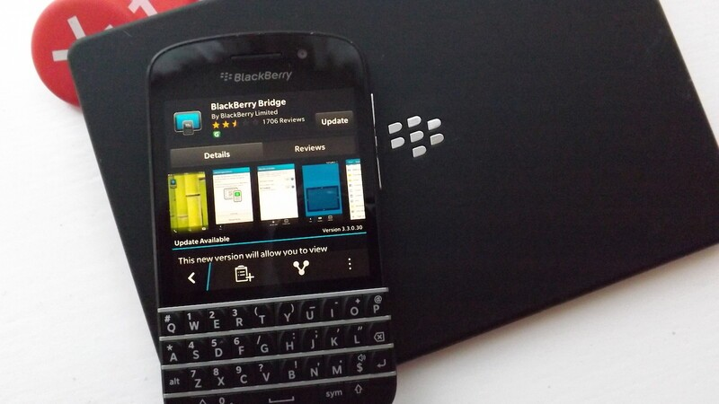 View phone call notifications on the PlayBook with the latest update to BlackBerry Bridge