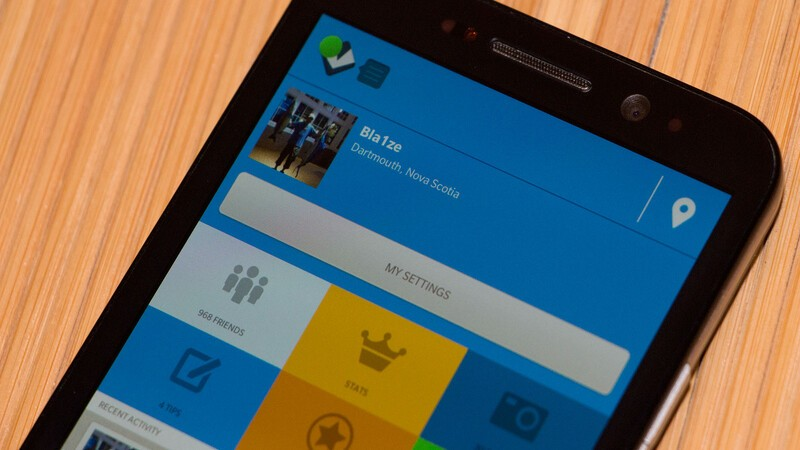 Foursquare for BlackBerry 10 bug fix update now available in BlackBerry World