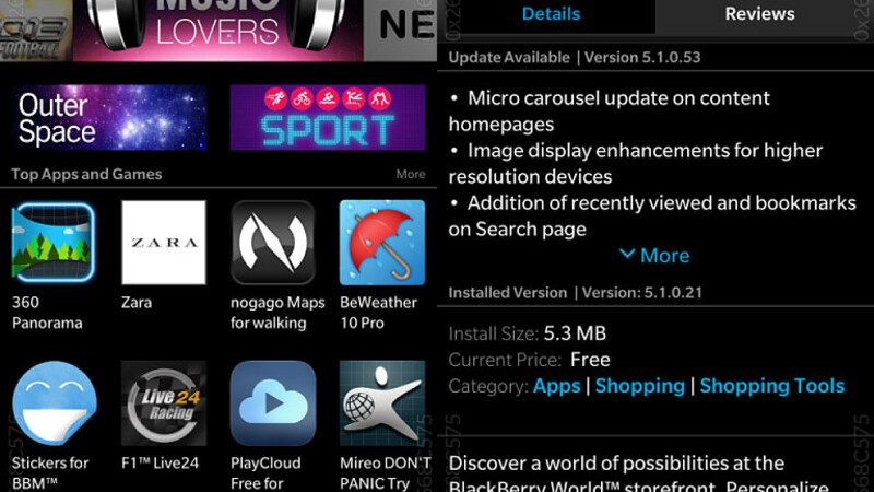 BlackBerry World updated in preparation for OS 10.3