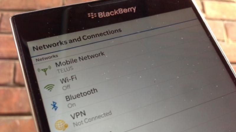 TELUS to release the BlackBerry Passport