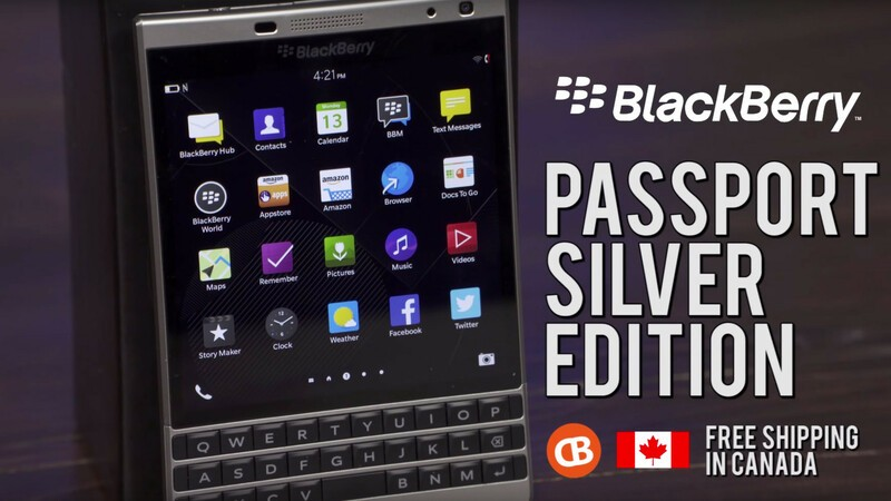Order Silver Edition Passport from CrackBerry & Save!