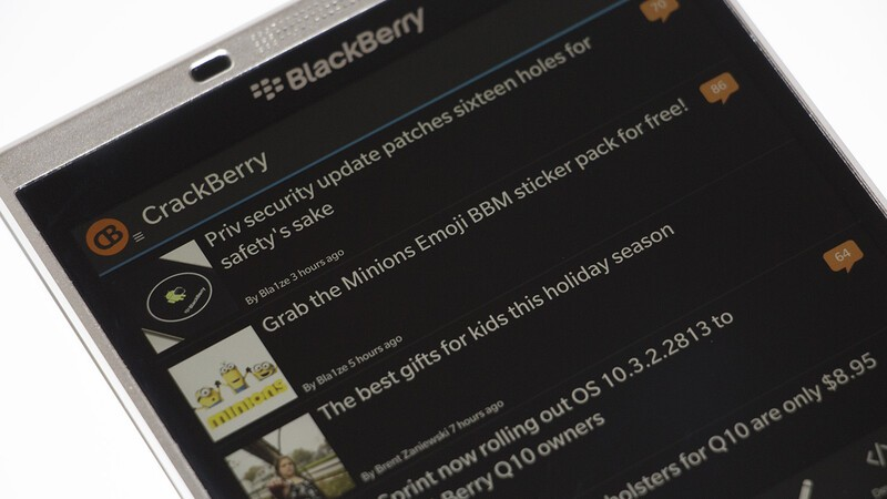 We've updated the CB10 app for BlackBerry 10 to fix some bugs
