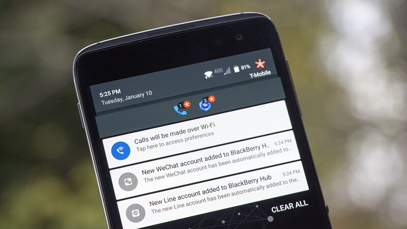 Latest BlackBerry Hub+ Services update brings WeChat and Line integration