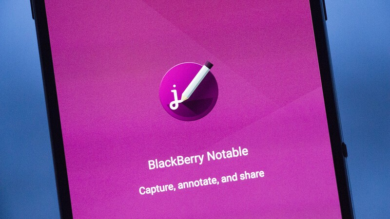BlackBerry releases Notable for Android as part of the BlackBerry Hub+ Suite of applications