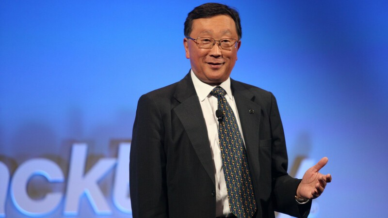 John Chen will stay on as BlackBerry CEO until at least 2023 as part of contract extension
