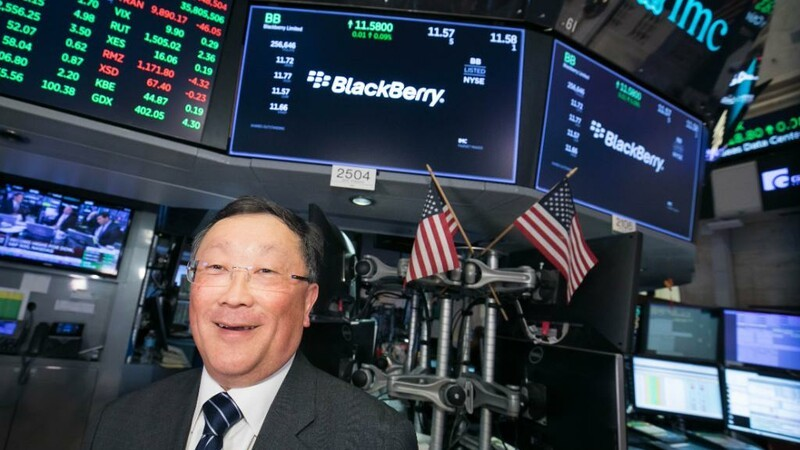John Chen discusses moving to the NYSE and BlackBerry's ongoing turnaround