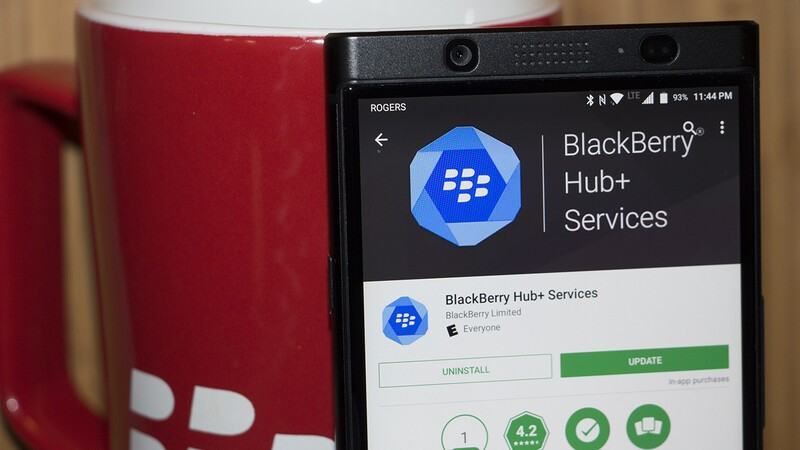 Hub+ Services update changes how the BlackBerry Hub handles SMS and Calls