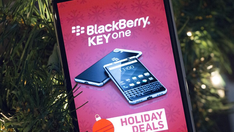 BlackBerry KEYone Holiday Deals