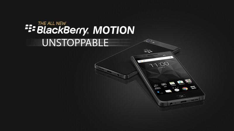 BlackBerry Motion now available in 28 countries across Europe!