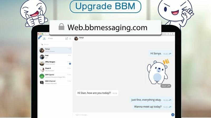 Latest BBM beta brings an enhanced BBM Desktop experience