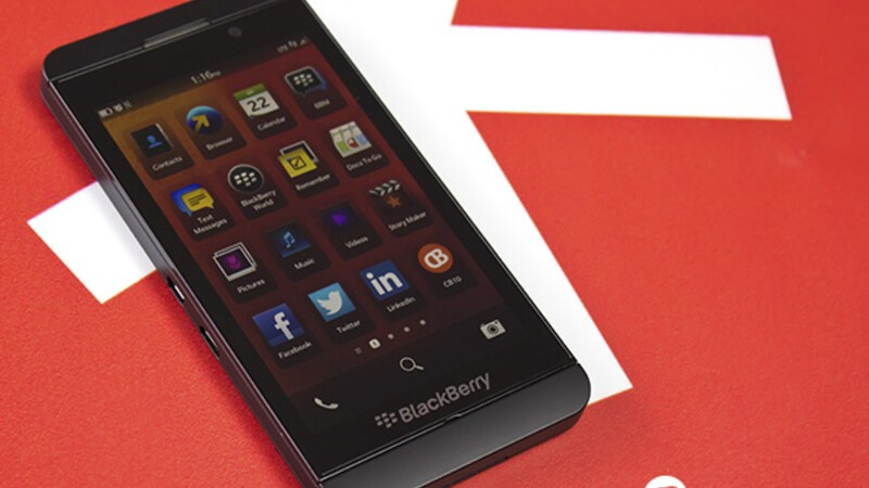 official blackberry z10 specs and features