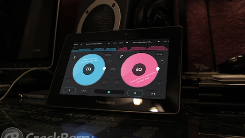 Become the next DJ star with the Pacemaker DJ app for the BlackBerry PlayBook