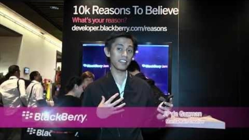 BlackBerry Jam Asia attendees share what they love about BlackBerry 10