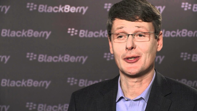 Exclusive Video: RIM's New CEO Thorsten Heins talks his coolest BlackBerry moment!