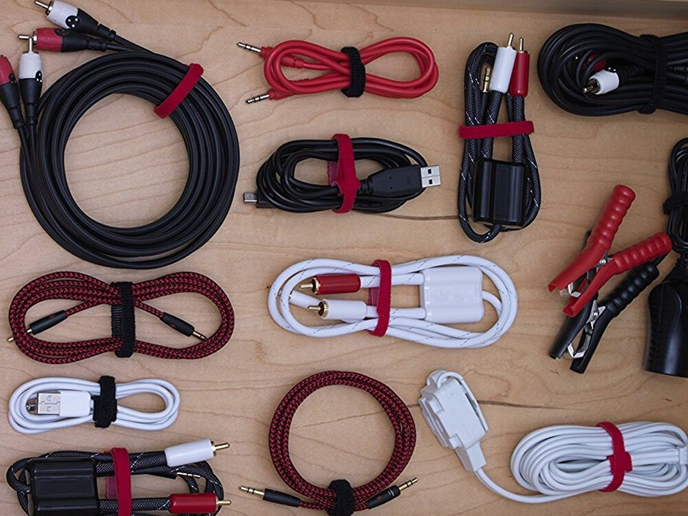 Keep Your Cables Organized With 100 Velcro Brand Ties For 6
