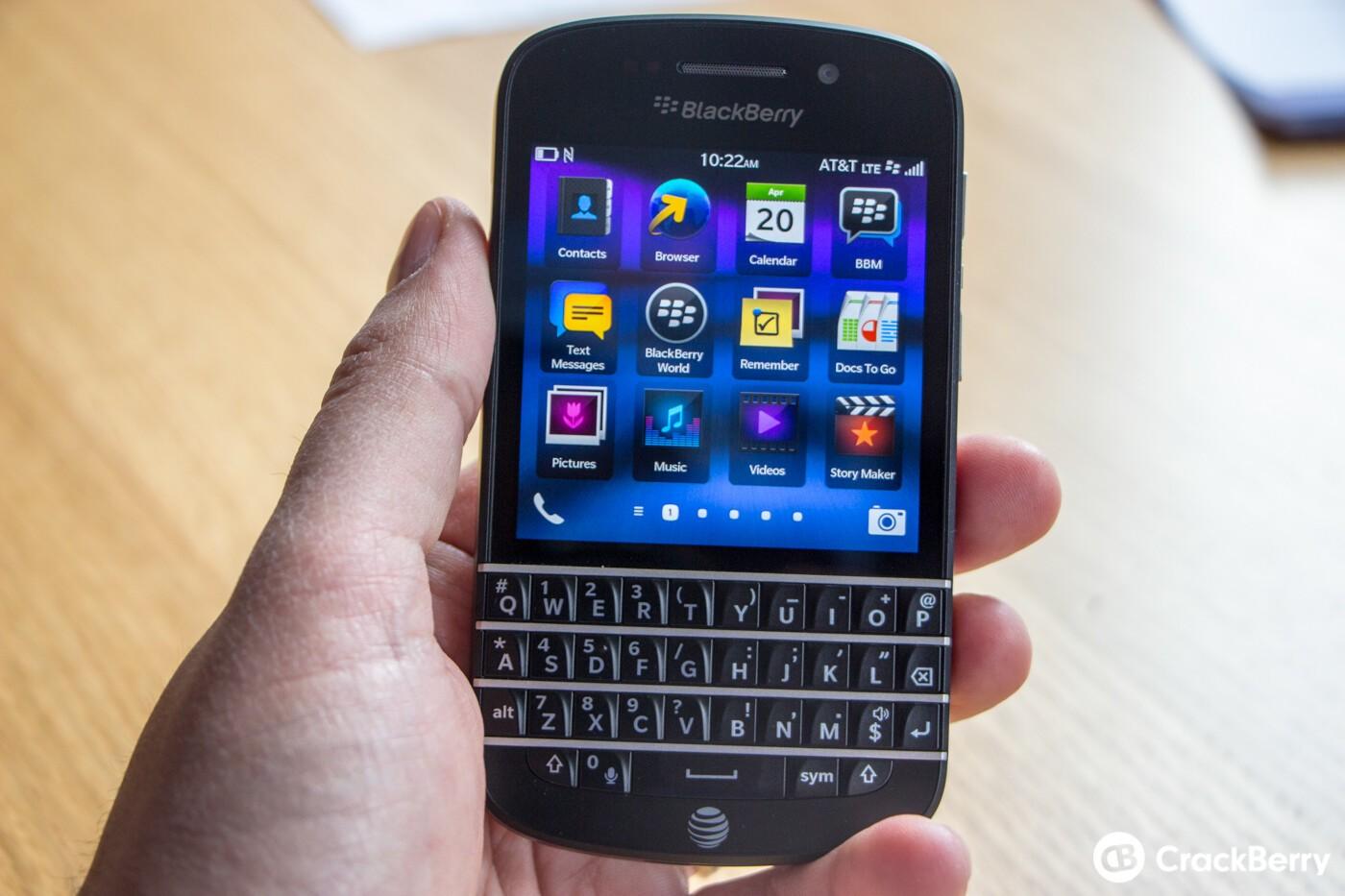 Updating browser on blackberry