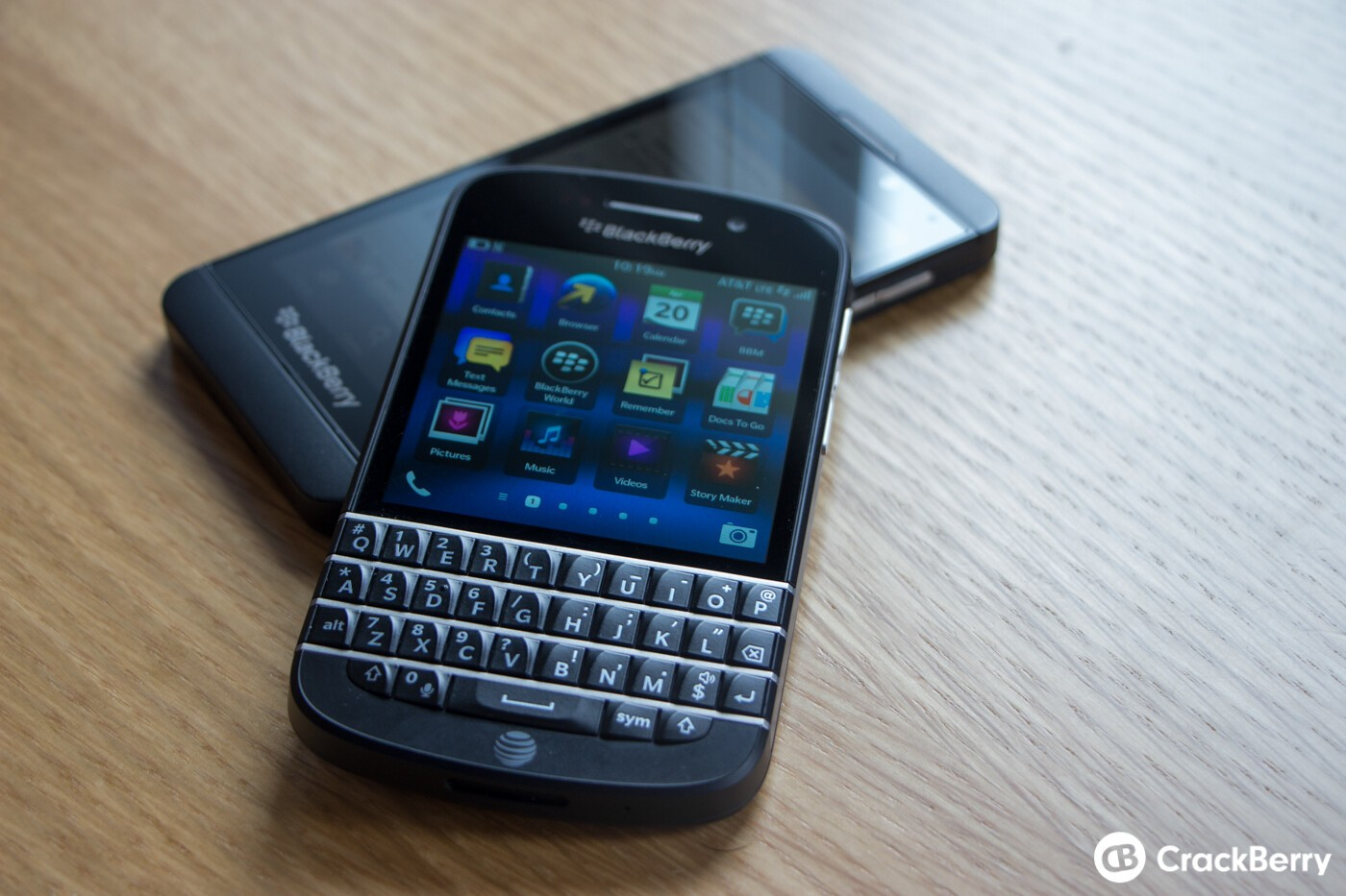 BlackBerry's President of Enterprise talks about why they're