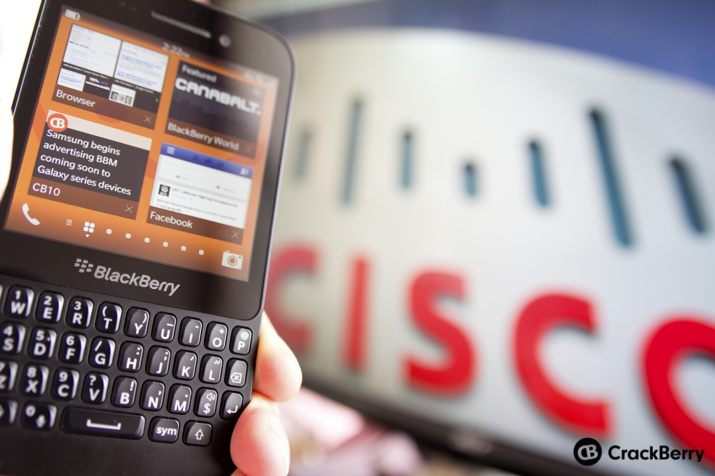 What If Cisco Bought Blackberry Crackberry