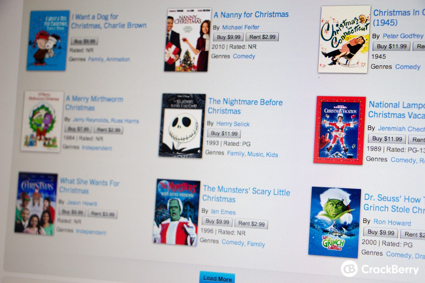 The best Christmas movies you can buy on your BlackBerry ...