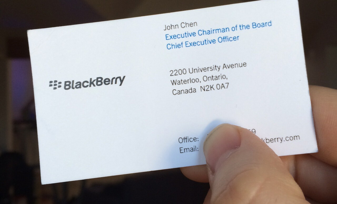 blackberry ceo john chen you can be an iphone or android customer