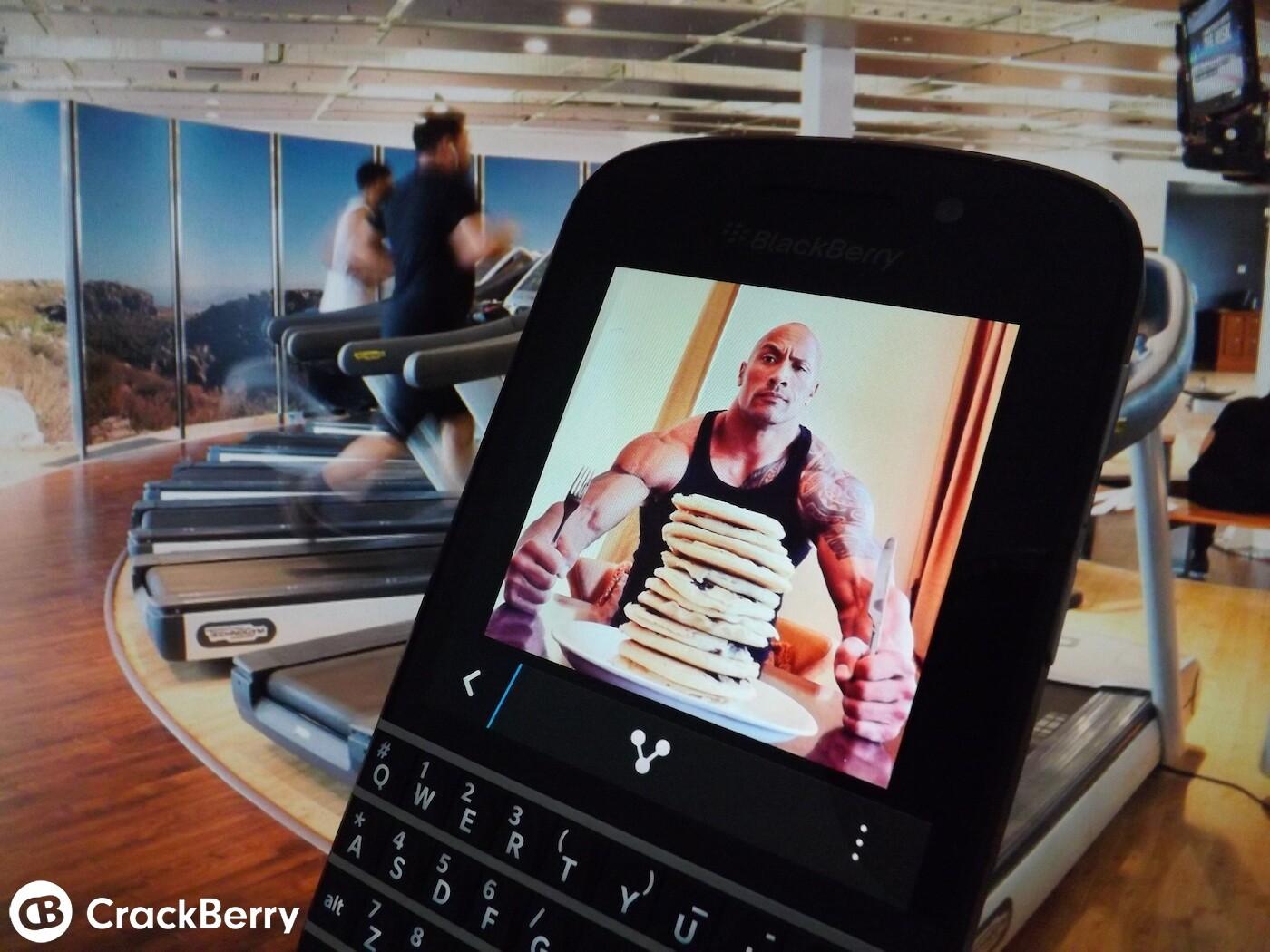 calorie counter app for blackberry z10