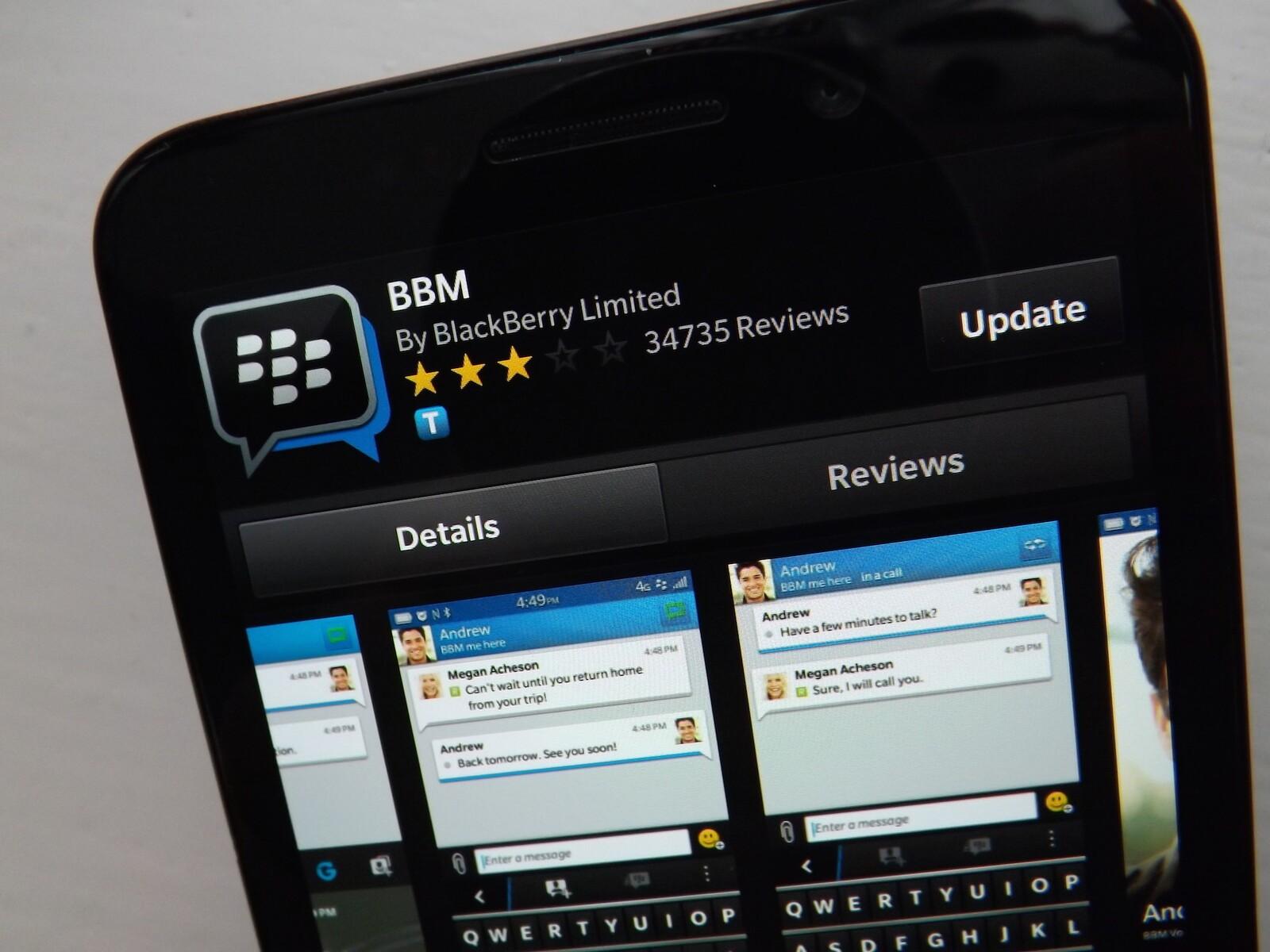 BlackBerry Messenger Consumer Service Sets To Shut Down