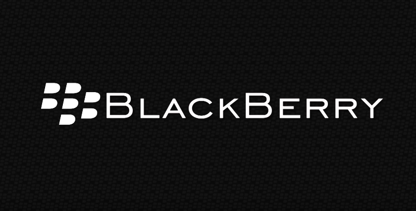 Blackberry Logo White