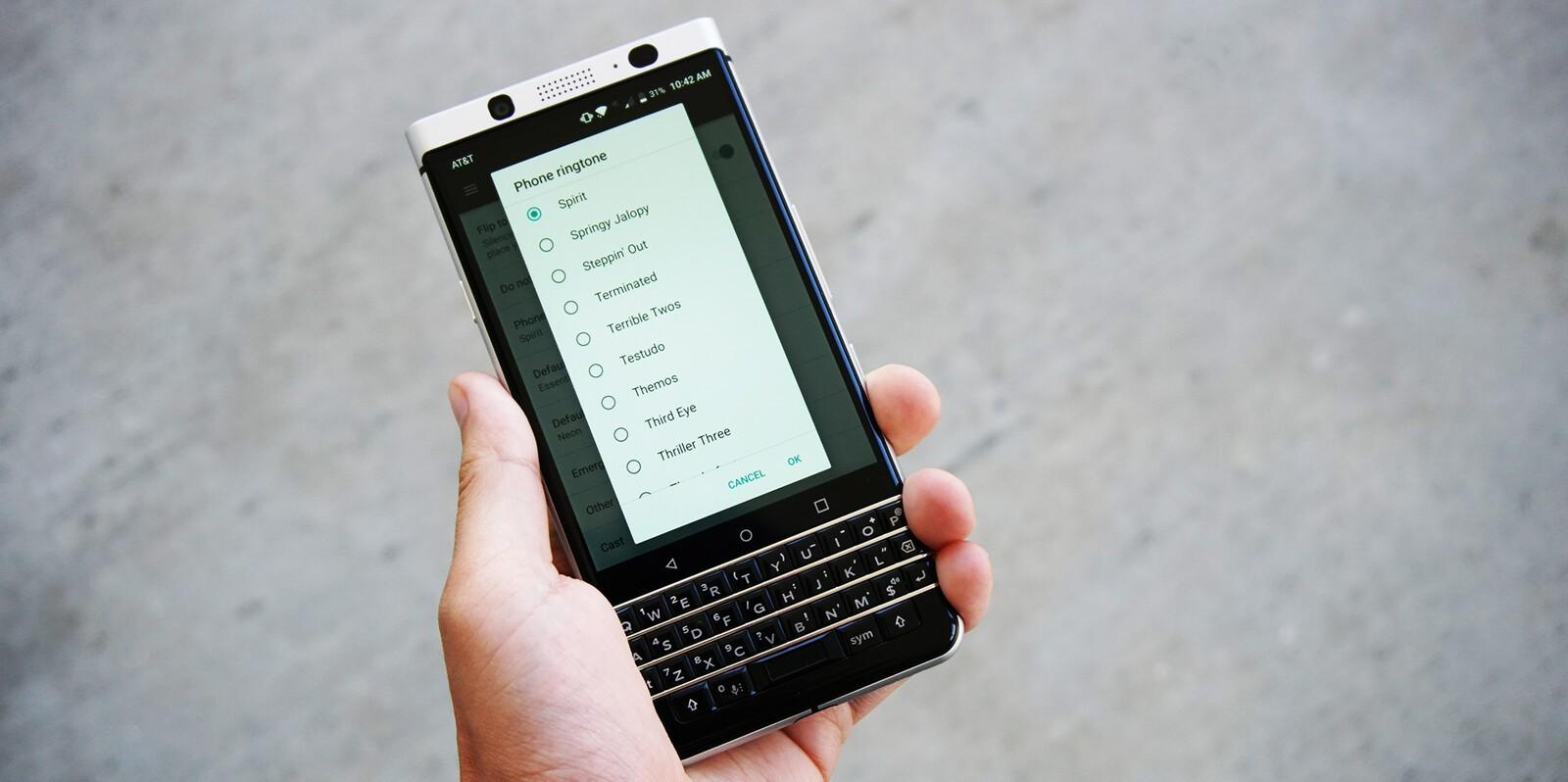ringer classicphone blackberry