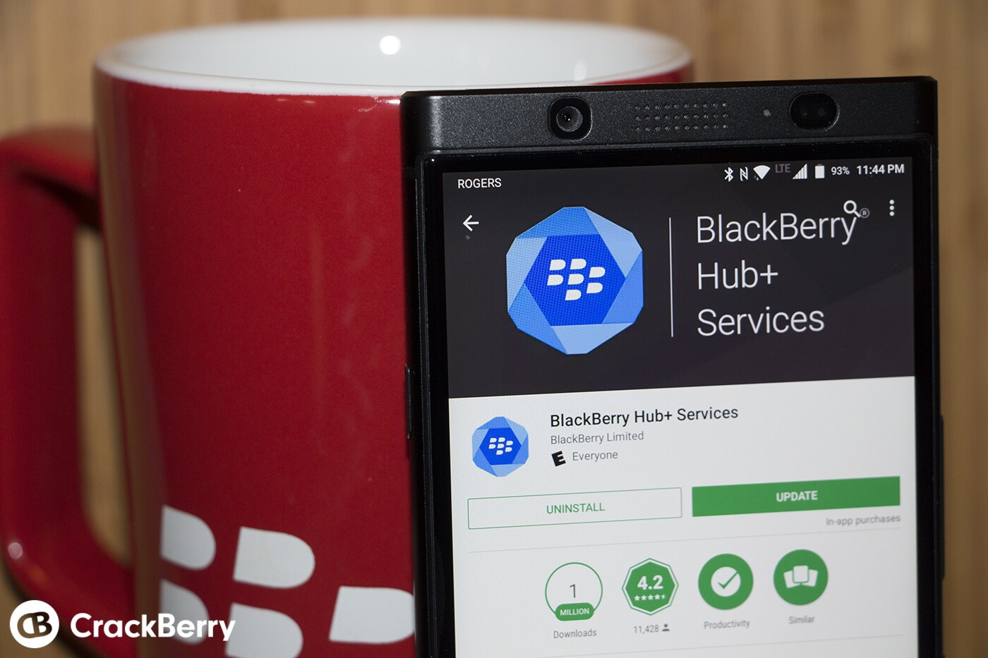 Blackberry news app not updating