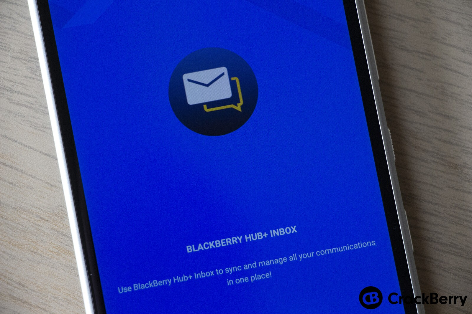 Here are the Android apps that integrate with BlackBerry Hub