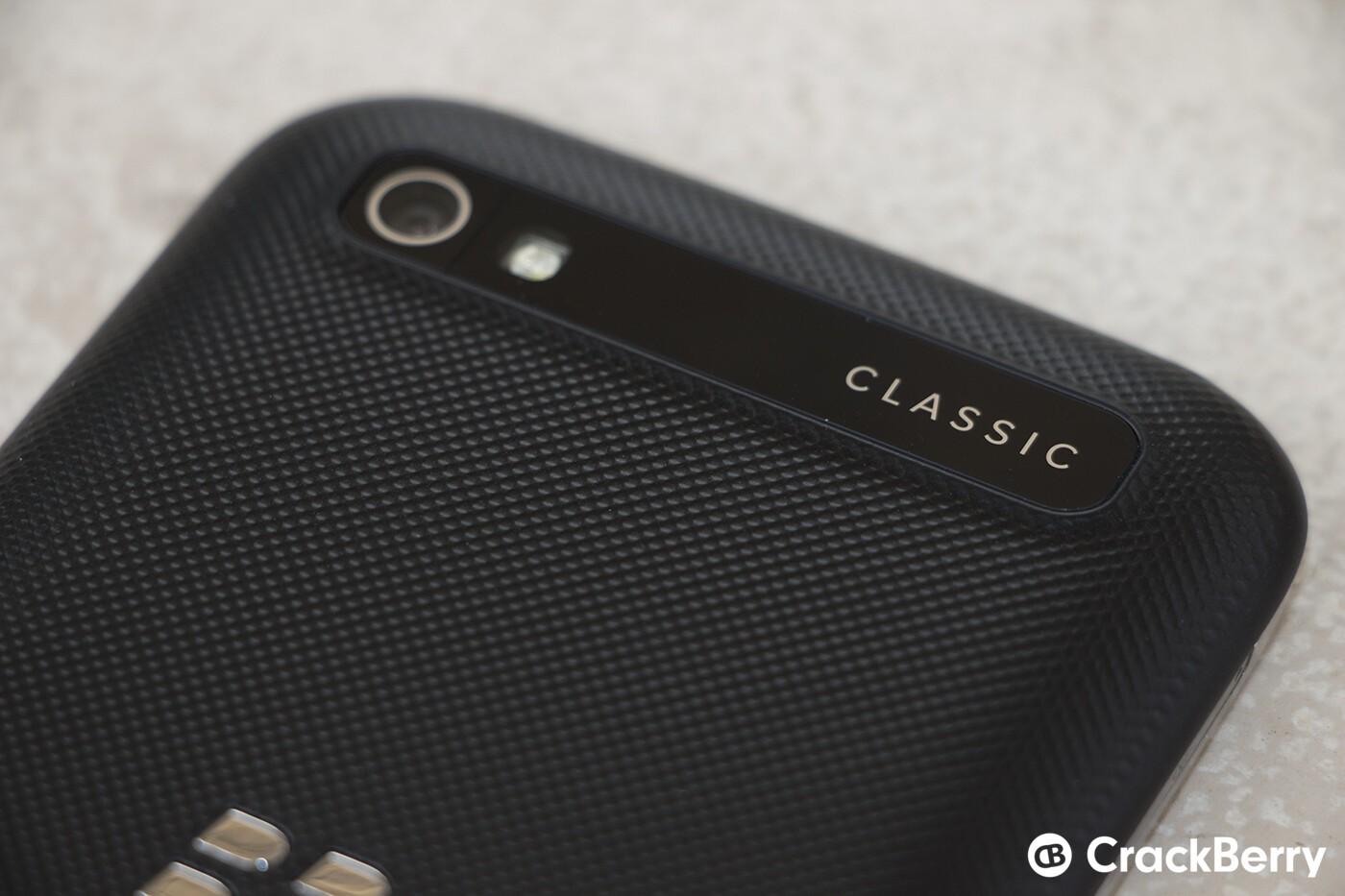 Blackberry Classic Review Camera