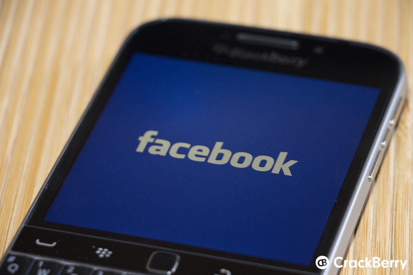 download facebook app for blackberry z10