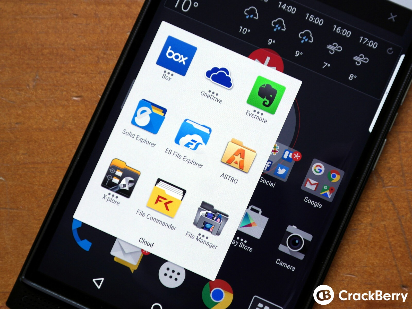 Snap Free Google Play Client for BlackBerry 10