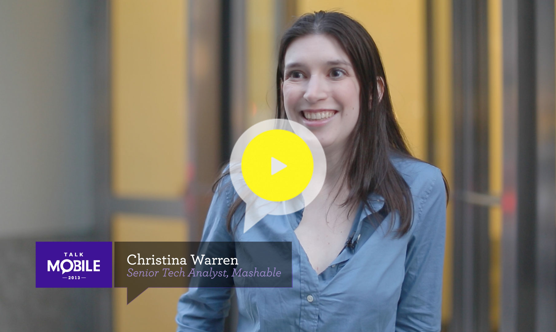 Watch Christina Warren talk about social networks for people famous and for people looking to become famous.
