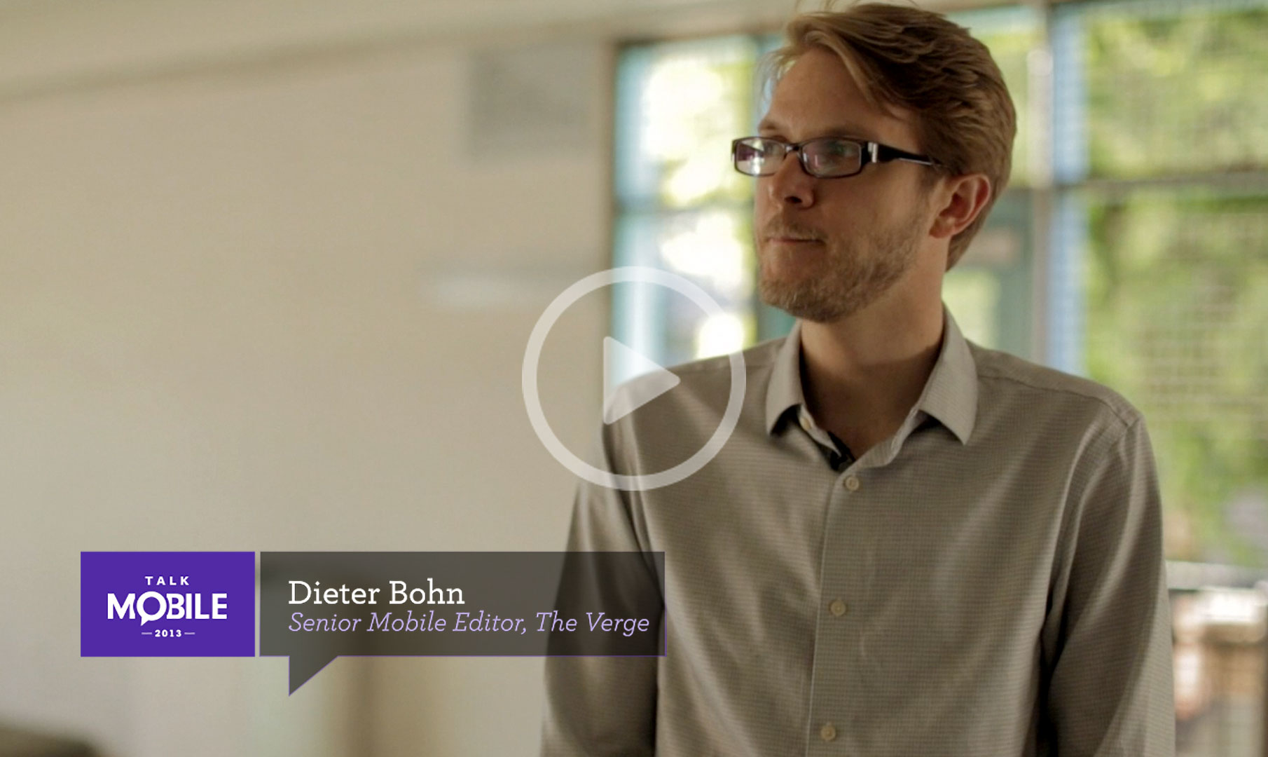 Watch Dieter Bohn talk about the future of mobile... and brain implants