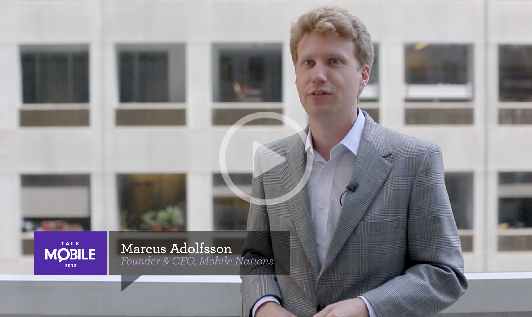 Marcus Adolfsson, founder and CEO of Mobile Nations, talks cloud services table stakes