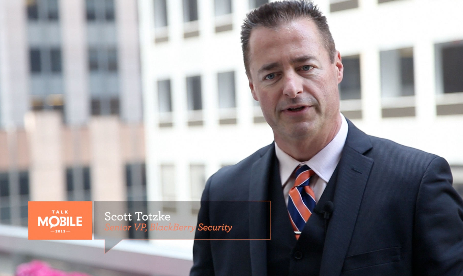 Scott Totzke on balancing personal fun with professional security - Talk Mobile