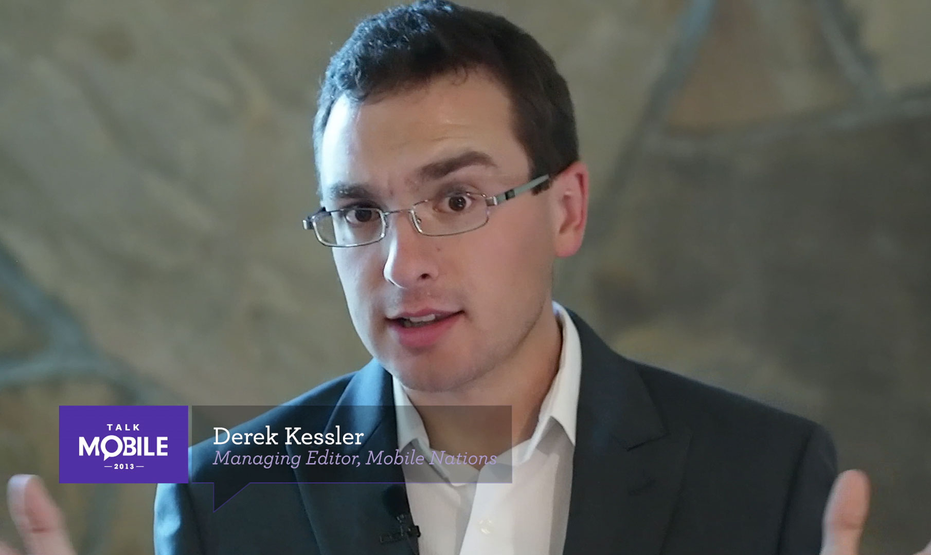 Derek Kessler talks 4K and High Frame Rate... on phones!