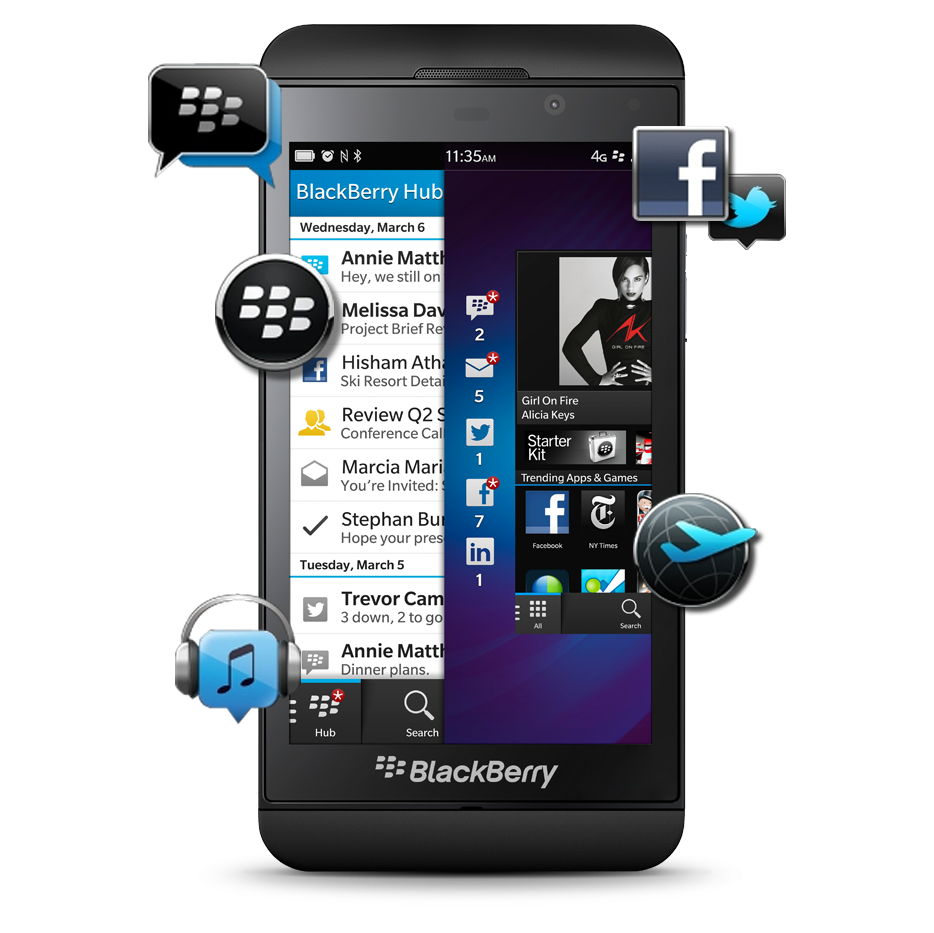 BlackBerry 10 Apps
