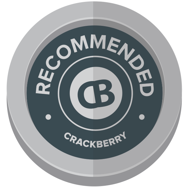 CrackBerry Recommended Award