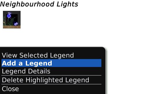 Dynamic Legend