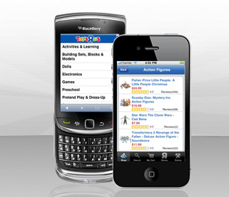 Toys R Us Mobile BlackBerry
