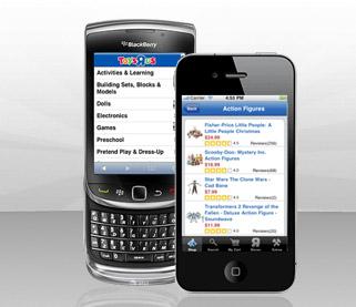Toys R Us Mobile BlackBerry