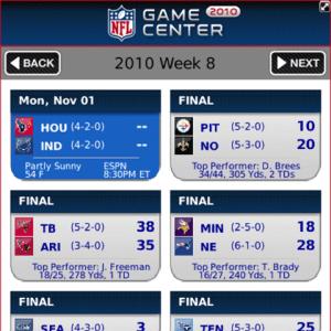 NFL.com Game Center