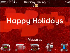 BlackBerry Holiday Theme