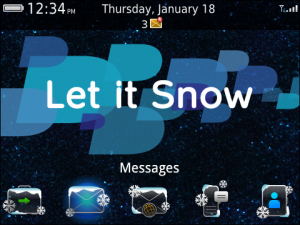 BlackBerry Holiday Theme