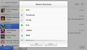 IM+ for BlackBerry PlayBook