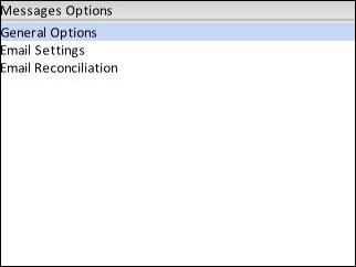 Message Options