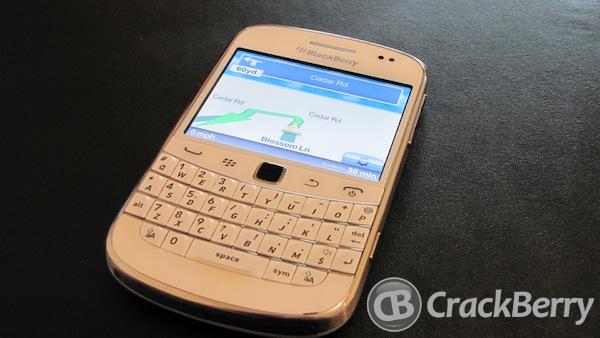 Telemap BlackBerry