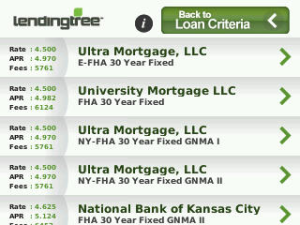 Lending Tree Mortgage Rate Finder BlackBerry